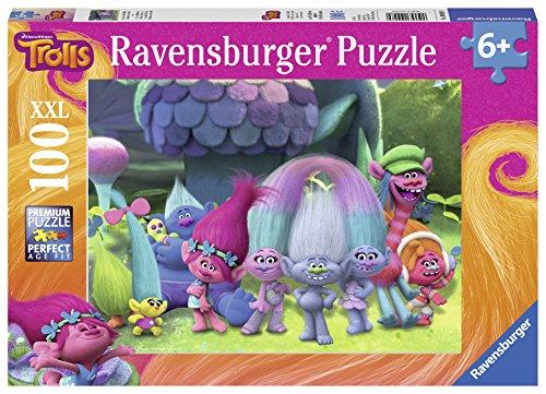TROLLS Puzzle XXL de 100 piezas