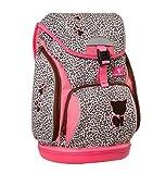 Belmil Ergonomischer Schulranzen für Schule, Outdoor und Reisen - für Mädchen, 1.-4. Klasse in pink | Kätzchen