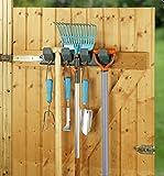 Wenko 666910900 Werkzeug-Hakenleiste mit 8 Haken (L x B x H) 430 x 80 x 110mm
