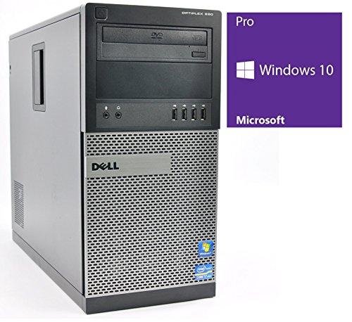 Dell Optiplex 790 MT | Büro Computer/Internet PC | Intel Core i5-2400 @ 3,1 GHz | 4GB DDR3 RAM | 500GB HDD | DVD-Brenner | Windows 10 Pro vorinstalliert (Zertifiziert und Generalüberholt)