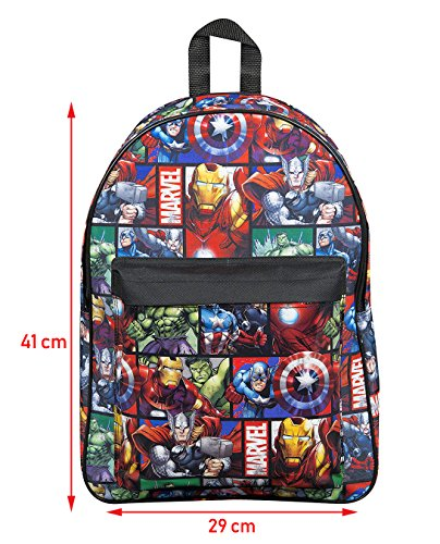 abd03cd4b8ca Marvel Avengers Official Backpack for Children Boys Girls Adults Comics Back  Pac
