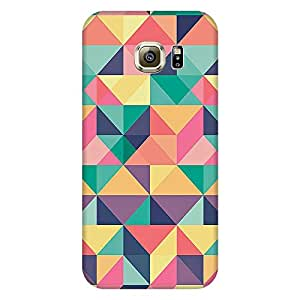 MOBO MONKEY Printed Hard Back Case Cover for Samsung Galaxy S6 Edge - Premium Quality Ultra Slim & Tough Protective Mobile Phone Case & Cover