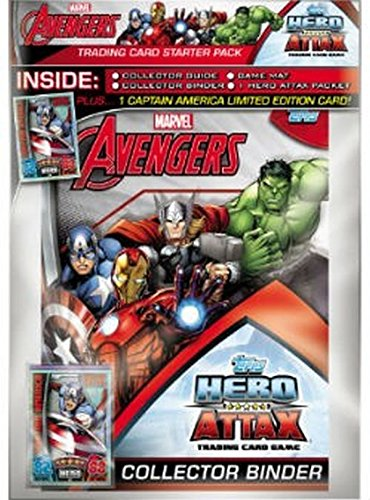 Marvel Avengers Hero Attax Starterpack