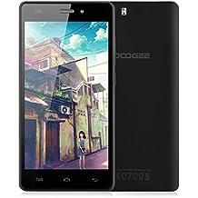 "Doogee X5 Pro - 4G Lte Smartphone libre Android 5.1 (HD Pantalla 5"", Quad Core, 64 bit, Dual Sim, 16GB, 2GB RAM, OTG, Smart Wake, Multi-Idioma) (Negro)"