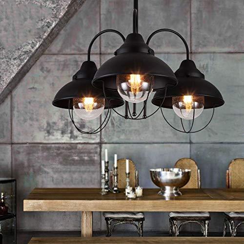 Kronleuchter Mehr Energie Sparen Moderne Minimalistische Persönlichkeit Kreative Wirtschaft Retro Stil Glasschirm Eisen Wohnzimmer Bar Restaurant Bar Mode Licht