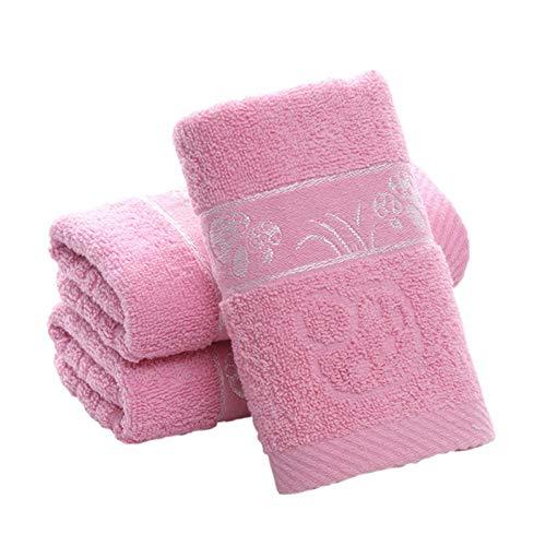 TDPYT 5 Stücke/Baumwolle 1 Stück 33 * 74 cm Heimgebrauch Festes Gesicht Handtuch Pilz Jacquard Print Bad Handtücher Weichen Saugfähigen Handtuch Erwachsene