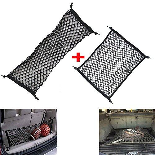 Odster Auto Hinten Trunk Cargo Organizer Elastic Mesh Halterung Aufbewahrung Gepäck Net Passform für Volvo XC60XC90