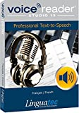 E Readers Best Deals - Voice Reader Studio 15 Français / French - Professional Text-to-Speech - Logiciel synthèse vocale pour Windows