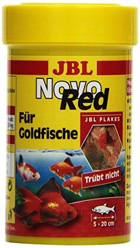 JBL NovoRed 30199 Alleinfutter für Goldfische, Flocken 100 ml