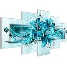Bilder Blumen Lilien Wandbild 200 X 100 Cm Vlies   Leinwand Bild XXL Format  Wandbilder Wohnzimmer