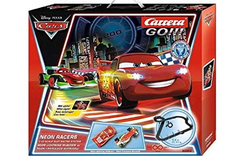 CARRERA Go Disney Pixar Cars - Neon Racers 62354 Box Set