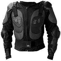Protektorenjacke Brustpanzer Rückenprotektor (Größe M) Schutzausrüstung für Fahrrad Bike Quad Motocross Motorrad Motorsport - Protektor Protektoren Jacke Motorradjacke