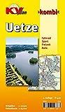 Uetze: 1:12.500 Gemeindeplan mit Freizeitkarte 1:25.000 inkl. Radrouten und weiteren Freizeitmöglichkeiten (KVplan Heide-Region) - Kommunalverlag Tacken e.K.