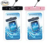 Tarkan Matte Universal Waterproof Case, IPx8 Phone Pouch for Swimming, Hiking, Biking, Underwater