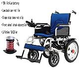 Sedia a rotelle elettrica motorizzata pieghevole per sedia a rotelle - Leggera e...