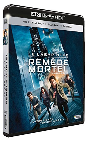 Le Labyrinthe : Le remède mortel [4K Ultra HD + Blu-ray + Digital HD]