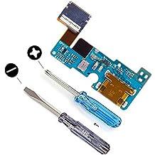 Conector Dock de repuesto para LG G5 MMOBIEL Cargador Puerto micro USB Cable Flex con adhesivo Incluye dos destornilladores y adhesivos para una fácil instalación