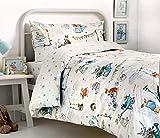 Bedlam Billy Bunny Tea Party 'Kinder Bettbezug Set, Einzelbett, Polyester-, Multi, 200x 140x 1cm