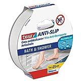TESA TE55533-00001-11 Cinta antideslizante 5m x 25mm transparente baño, Standard