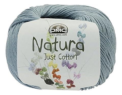 DMC fil Natura, 100% coton, bleu azur N56