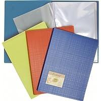 Porte vues prolypropylene recycle rigide forever pp 80 vues - a4- Coloris aléatoire