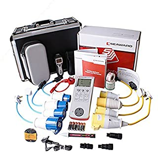 Seaward Primetest 100 PAT Tester Plus Extra Accessories, Adaptors + Kit K-100G1