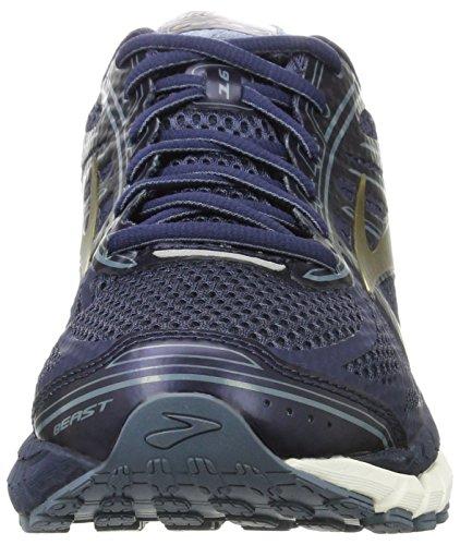Brooks Herren Beast '16 Laufschuhe Blau (Peacoatnavy/chinablue/gold 1d413)