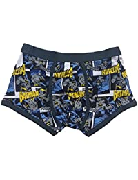 Mens DC Comics Batman Character Fitted Short Boxer Brief Trunk Underwear