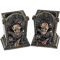 Set di 2zombie gotico per scrivania, porta penne
