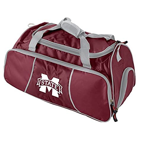 NCAA Mississippi State Bulldogs Athletic Duffel Bag by Logo Inc.