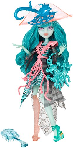 Monster High Mattel CDC31 - Verspukt Geisterschüler Vandala Doubloons Puppe - High Love Monster Fashion I