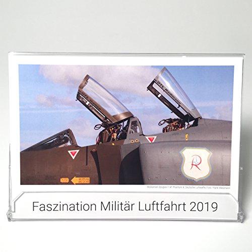 Militär Luftfahrt - Tischkalender 2019 - Kalender Flugzeuge - Luftfahrt-kalender