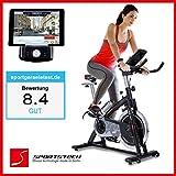 Sportstech Profi Indoor Cycle SX200 mit Smartphone App Steuerung