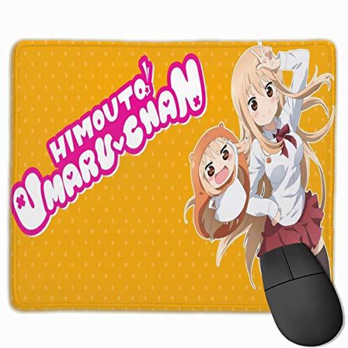 Himouto! Umaru-Chan Cooles Gaming-Mauspad, rutschfestes Gummi-Mauspad Game Office Learning Precision Seaming 25X30cm