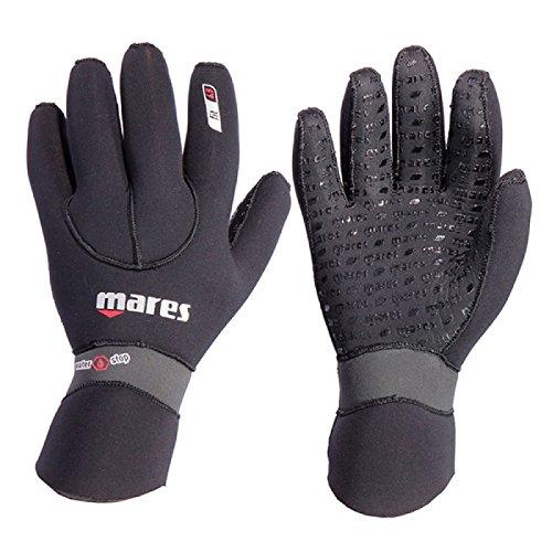 Mares Erwachsene Taucherhandschuhe Gloves FLEXA FIT 6.5 mm, Schwarz, XXL, 412717