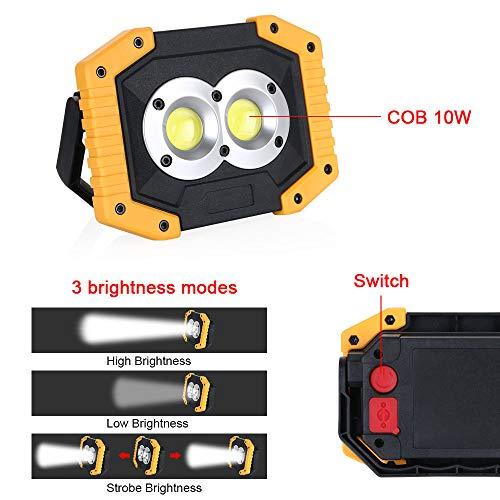 Zoom IMG-3 flintronic led portatile 20w 1500lm