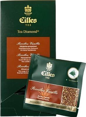 Eilles Luxury World Selection Tea Rooibos Vanilla - 20 Tea Diamonds einzelverpackt von J.J.DARBOVEN bei Gewürze Shop