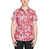 Jack Wolfskin Damen Bluse Sonora Jungle Shirt rot (500) L