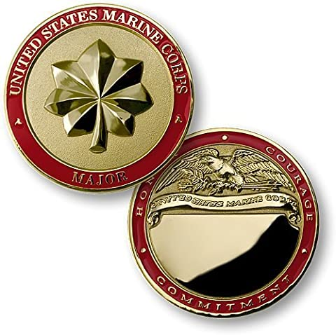 U.S. Marines Major Engravable Challenge Coin by Northwest Territorial Mint