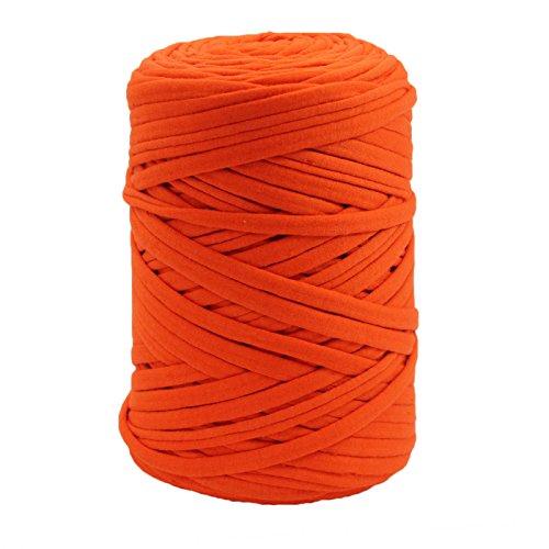 Trapillo en bobina Naranja puro 100 m aprox.