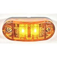 18x LED Seitenmarkierungsleuchten 12V für Auto LKW Anhänger SUV Van Wasserdicht Markierungsleuchten Gelb