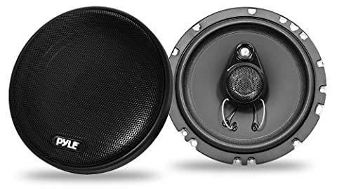 Pyle PLSL6503 200W 6.5 inch 3 Way Slim Mount Coaxial Speakers