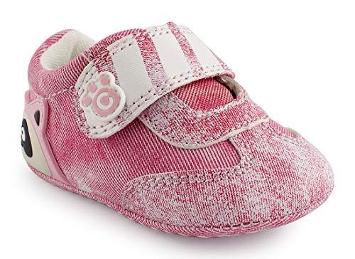 Cartoonimals Babyschuhe Mädchen Jungen Neugeborene Weiche Rutschsicheren Baby Kinder Schuhe Boots Raccoon Denim Pink 18