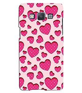 Citydreamz Love\Heart\Valentine\Pink Hard Polycarbonate Designer Back Case Cover For Samsung Galaxy E7