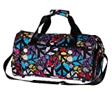 Mode Sport Duffel Bag Sporttasche Fitness Bag Reisetasche Graffiti