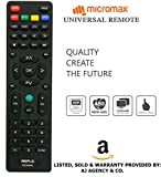 #4: Micromax Universal LED/LCD TV Remote ( Works With All Micromax Tv Models) By Mepl