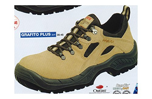 Panter 436411400 - GRAFITO PLUS S1P BEIGE Talla: 44