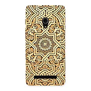Old Work Print Back Case Cover for Zenfone 5