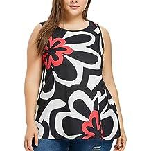 Lunaanco Camisetas para Mujer,Vestidos de Mujer, Camisetas de Mujer, Bata, Minifalda de Mujer, Mujer Chaleco Blusas de Verano&Blusa de Gasa