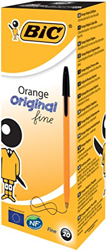 bic-8099231-orange-original-fine-penna-a-sfera-08-mm-20-pezzi-nero